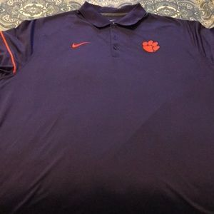 Clemson Nike Dr-fit Polo